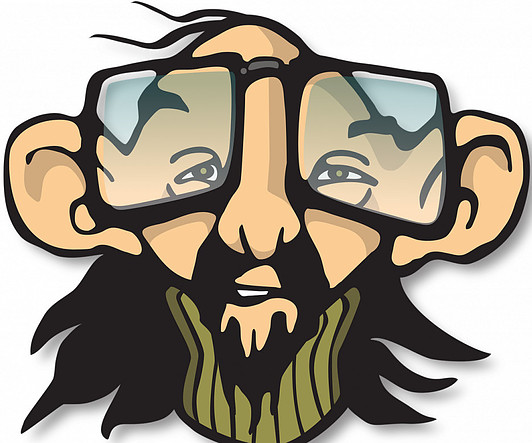 Old Hippy Man