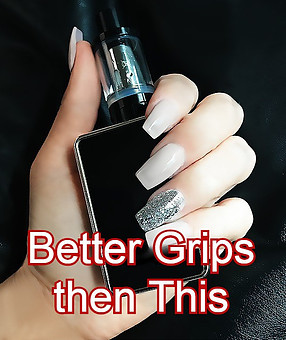 Geek Vapor Aegis Has Better Grip So No Slip
