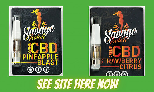 Isolate CBD Cartridges