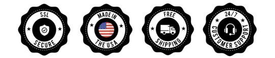 Savage CBD badges