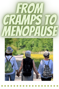 CBD and PMS cramps to menopause