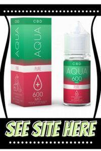Aqua pure CBD vape oil