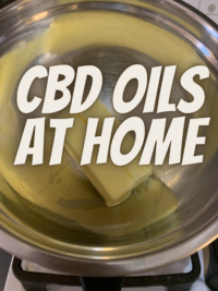 making CBD oils at home