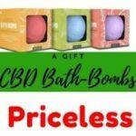 CBD and bath bombs