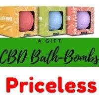 CBD and bath bombs
